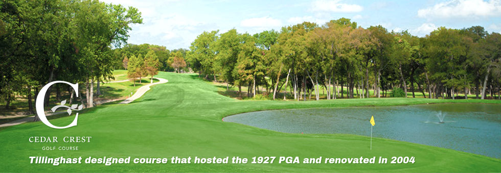 Cedar Crest Golf Course - Tillinghast designed course that hosted the 1927 PGA and renovated in 2004